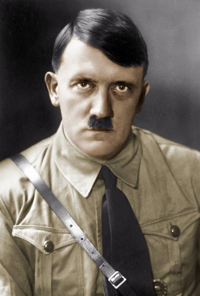 Adolf Hitler (1889-1945), Austrian-born German statesman. 1935. Coloured photograph.