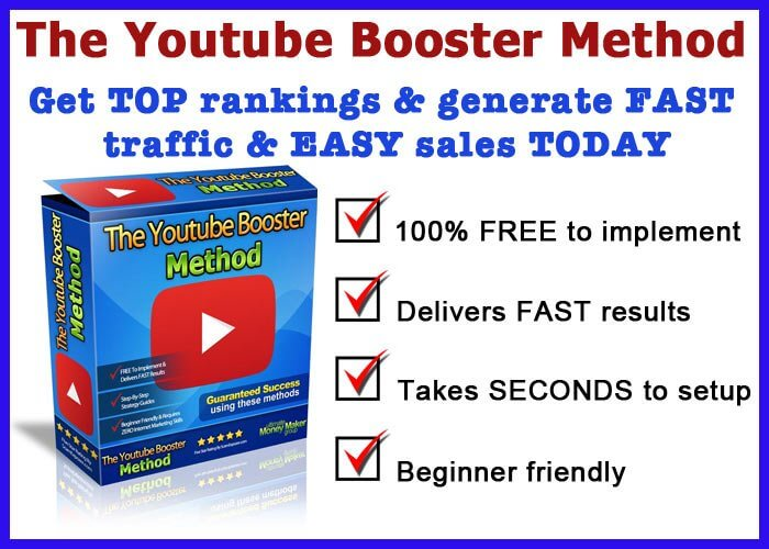 Youtube Booster Method