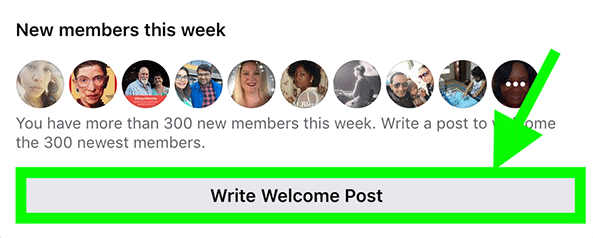 You need to click this button once every day and over time you'll notice more and more new members will start to join your group until you're getting 1000s of new members joining your Facebook group daily.