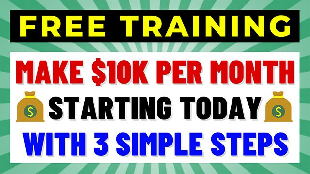 How to make $10K a month from home in 3 easy step even a beginner can profit from Banner