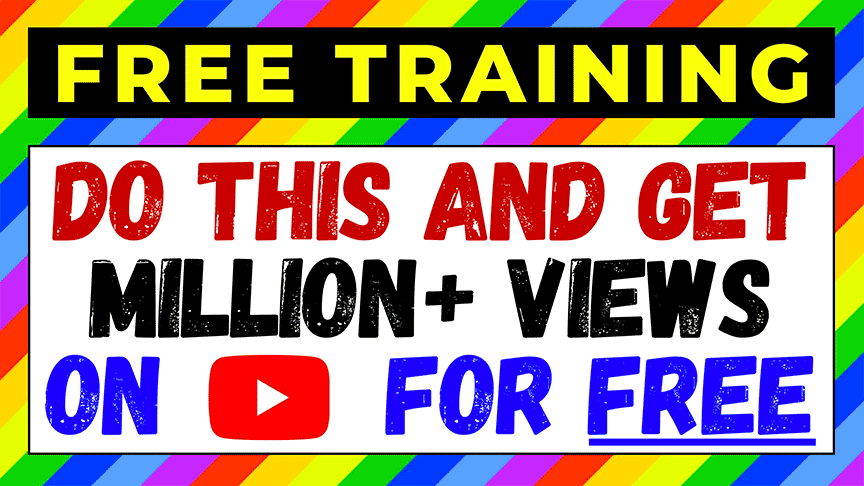 In today's training, I'm going to show you how to grow your Youtube channel with 0 views and 0 subscribers quickly using free methods.