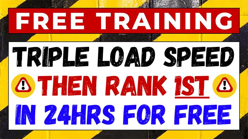 Wordpress speed optimization course free banner