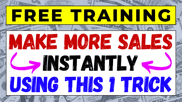 Boost Sales TODAY Using My FREE Simple Selling Formula